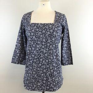 Jessica London Floral Shirt Size 12 (B-99) NWOT